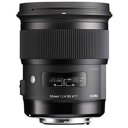 Sigma 50mm f/1.4 EX DG HSM Standard Lens for Canon - Black